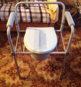 Стул туалет для пожилых людей и инвалидов