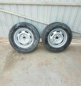Зимние колеса на ВАЗ R 13
