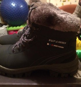 Зимние ботинки 36-37 размера