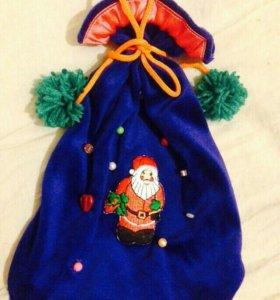 Самодельные мешочки для подарков.
