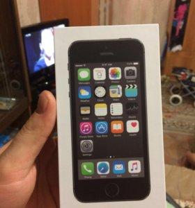 iPhone 5s 16g чёрный