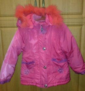 Костюм:куртка и комбенизон на зиму.