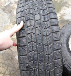 Резина зимняя R13, липучка Dunlop