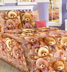 Комплекты постельного белья детские 1,5