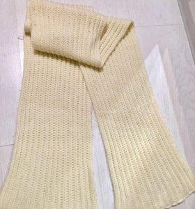 Длинный зимний шарф