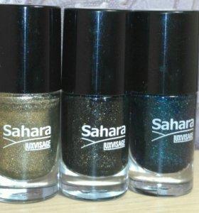 Лаки для ногтей lux visage sahara