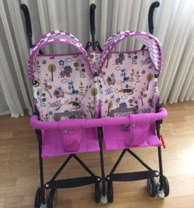 Новая коляска для двойни