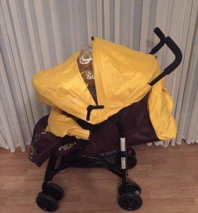 Новая коляска полный комплект