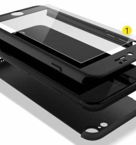 Стекло-чехол на iPhone 7