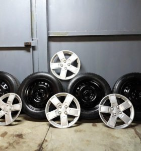 Комплект зимних колёс R15