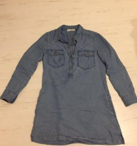 Платье манго джинсовое новое