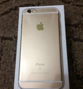 Продам свой iPhone 6s 16 Gb Gold .