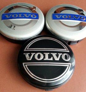 Колпачки Volvo оригинальные на литые диски