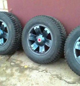 Колеса на Niva Chevrolet