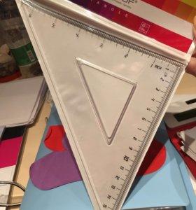 Новая линейка треугольник