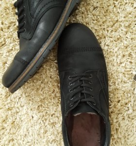 ботинки мужские кожанные