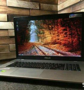 4-х ядерный игровой ноутбук asus core i5