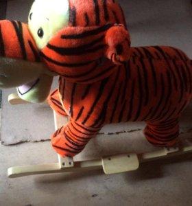 Тигр качалка новая!