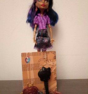 Кукла из серии монстер хай Робэка Стим с аксессуар