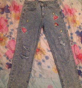 Продам новые джинсы 28 размер.46-48