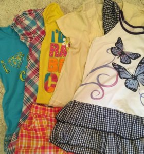 Летние вещи на девочку 4-5 лет