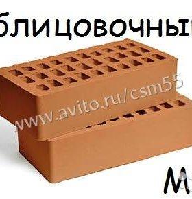 Кирпич красный облицовочный Азовский М125
