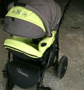 Классная коляска-Вездеход 2 в 1! Aneko