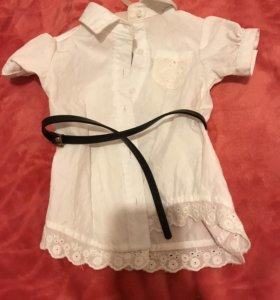 Рубашка на малышку