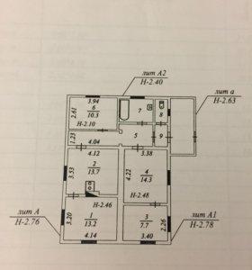 Дом, 77.8 м²