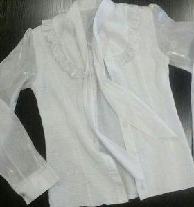 красивая блузка на девочку 8-12 лет