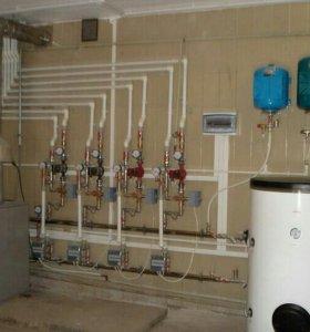 Отопление, водоснабжение, канализация!!!