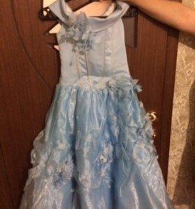 Детское платье- корсет