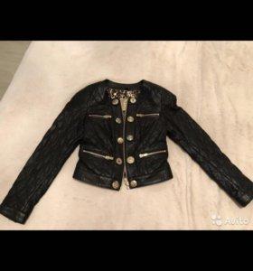 Куртка кожаная Armani