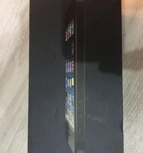 Коробка IPhone 5, документы