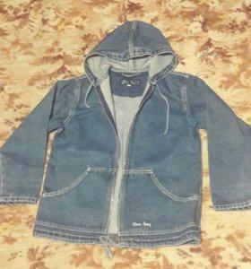 Куртка джинсовая детская