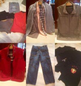Пакет мужской одежды большого размера 54-56
