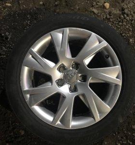 Диски , колеса Audi r17 с зимней резиной, комплект