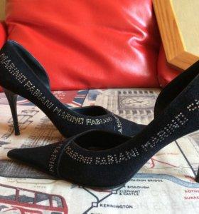 Итальянские туфли на шпильке Marino Fabiani