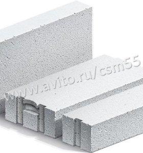 Газобетон Сибит 625x150x250 D600 перегородочный