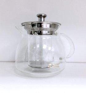 Чайник из боросиликатного стекла