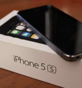 Новый iPhone 5s space gray 16gb
