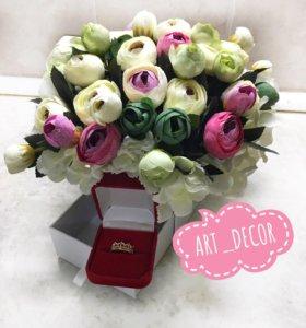 Подарочная композиция цветы