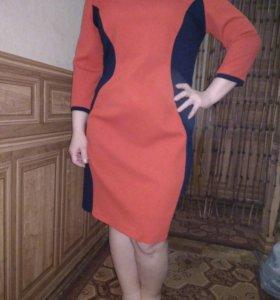 платье, размер 52-56