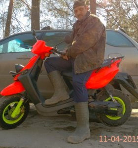 скутер yamaha BWs100