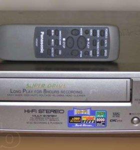 Видеоплеер VHS Panasonic NV-FJ8EUmk2 стерео новый