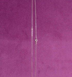 Золотая цепь. Якорное плетение 52см 1.8гр
