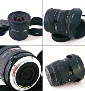 Sigma AF 10-20 mm F4-5.6 EX DC HSM Canon