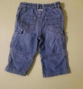 Детские брюки джинсовые