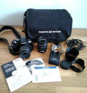 Зеркальный фотоаппарат Olympus E-450 + 2 объектива