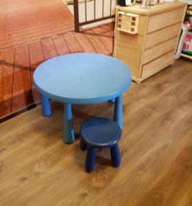 Стол и стул IKEA